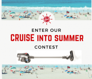 Techtronic Industries – Hoover Cruise Into Summer – Win a Hoover Cruise Cordless Ultra-Light Vacuum valued at CAD$249