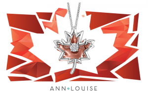 Ann-Louise Jewellers – Win a Canadian Dancing Diamond Maple Leaf Necklace in 10K Rose and White Gold valued at $599 CAD