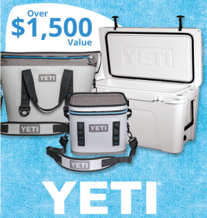 Bass Pro Shops – Gone Fishing – Win a YETI prize package valued at CDN$1,563