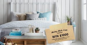Bouclair – The Moving Made Easy – Win a $1,000 CAD in Bouclair gift cards