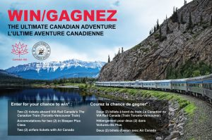 Buddha Brands – Ultimate Canadian Adventure – Win 2 Sleeper Plus Class tickets aboard VIP Rail Canada's The Canadian & a trip for 2