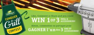 Cavendish Farms – Conquer The Grill – Win 1 of 3 BBQs & Accessories valued at $680 each