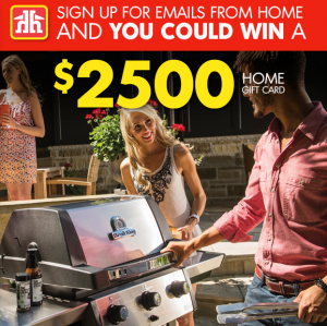 Home Hardware Stores – Win a $2,500 Home Card from Home Hardware
