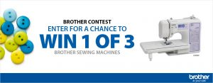 London Drugs – #BrotherSew – Win 1 of 3 Brother Computerized Sewing Machines #SC9500