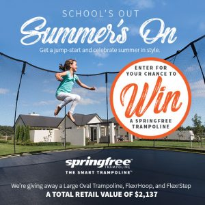 Oh Baby Magazine  – Win a Springfree Trampoline valued at $2,137