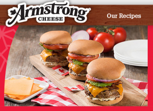 Saputo – Armstrong Cheese – Celebrate Canada 150 – Win 1 of 4 prizes of $1,000 in groceries & 1 year of Armstrong Cheese