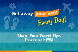 Sunseeker – Allegiant Travel Company – Get Away Your Way Every Day – Win 1 of 79 Daily Ticket Prizes of 2 roundtrip flights on Allegiant Air