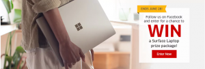 The Source – Surface Laptop – Win a Microsoft Surface 13.5″ Laptop with Intel i5 Processor, valued at $1,364 CAD
