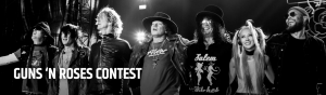 The Sports Network – CFL x Guns N' Roses – Win a grand prize of a VIP package to see GnR in Miami OR 1 of 5 minor prizes