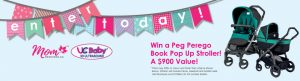 UC Baby 3D Ultrasound – Win 1 of 4 Peg Perego Book Pop Up Strollers valued at $900 each