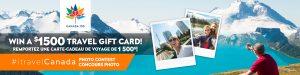 itravel2000 – #itravelCanada – Win a $1,500 itravel2000 Gift Card