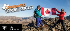 Air North, Parks Canada and Yukon's Airline – Canada 150 Go North – Win a trip for 2 to Whitehorse and Inuvik valued up to $13,318