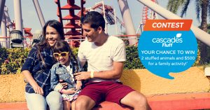 Cascades Tissue Group – Cascades Fluff for an amazing family day – Win a prize pack valued at $550