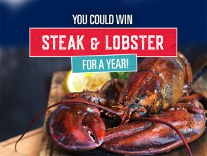 Chop Steakhouse & Bar – Win Chop Steak & Lobster for a Year valued at $1,200