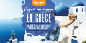 Eggsquis – Win a trip for 2 to Greece valued at $5,000