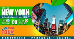 Jaimontour – Win a weekend for 2 in New York