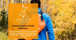 Justin Case Kayak – Win the ultimate kayaking bundle