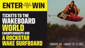 Rockstar & Gateway WWA Wakeboard World Championships – Win 2 tickets to the event & a Rockstar Wake Surfboard