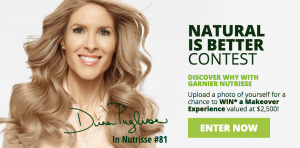 Rogers – Garnier Nutrisse 'Dina's Set Secrets Makeover' – Win 1 of 3 Makeover Experiences valued at $2,500 CAD each
