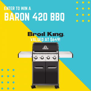 TA Appliances – Win a Broil King Baron 420 BBQ valued at $649