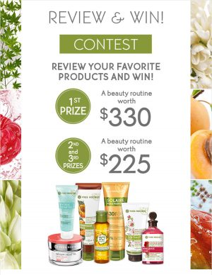 Yves Rocher North America – Review and Win – Win 1 of 3 prize packages valued up to $330