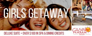 400Eleven – Girls Getaway – Win a Girls Getaway for 2 to Casino Rama Resort