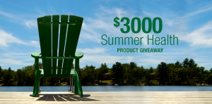 Bell Lifestyle Products – Summer Health Product – Win 1 of 50 prizes of Bell Lifestyle Products valued at $70 CAD each