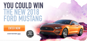 Costco Wholesale Canada – Win a 2018 Ford Mustang GT Fastback valued at $48,348 CAD