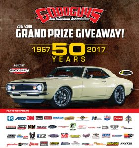 Goodguys – 1967 Chevrolet Camaro – Win a completed Goodguys 1967 Chevrolet Camaro