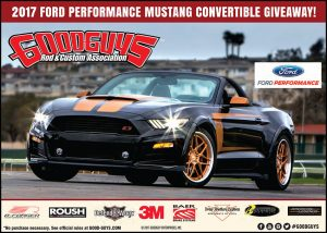 Goodguys – 2017 Ford Performance Mustang Convertible – Win a 2017 Ford Mustang by Ford Motor Company