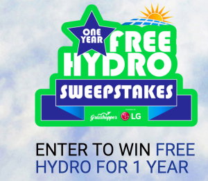 Grasshopper Solar – Win Free Hydro for 1 Year