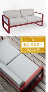 Hearst Communications – ELLE Decor Fermob – Win a Fermob's Bellevie Low Sofa valued at $2,974