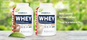 LeanFit Naturals – Win a Year's Supply of LeanFit Naturals Whey (12 bottles) valued at $530