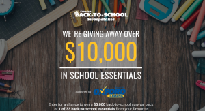 Oxford Learning Centres – Canada's Back-to-School – Win a grand prize valued at $5,000 OR 1 of 33 minor prizes