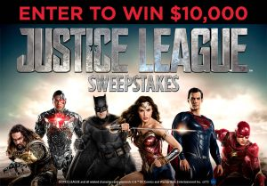 "Spirit Halloween Superstores – ""Justice League"" – Win a $10,000 cash"