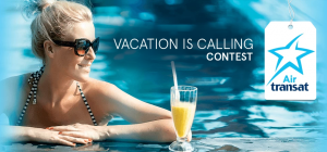 Air Transat & Corus – Vacation Is Calling – Win a trip for 2 to Riviera Maya, Mexico & 7 nights accommodation valued at $8,000 CDN