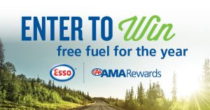 Alberta Motor Association – AMARewards – Win $2,000 worth of fuel from Esso