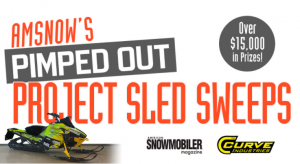 American Snowmobiler – AmSnow's Pimped Out Project Sled – Win a refurbished, custom-built 2012 Arctic Cat F800 valued at $14,096 OR a minor prize