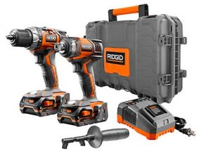 Canadian Woodworking – Win a RIDGID 18V Compact Drill & Impact Driver Combo Kit with Hard Case