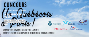 Canal Evasion – A Quebecois A Paris – Win a trip for 2 to Paris and 7-night accommodation plus 2 Museum Passes valued at $5,100