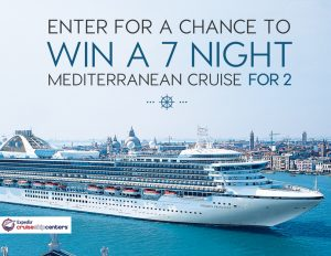 CruiseShipCenters – Stokes – Win a 7-night Mediterranean Cruise for 2 valued at $4,500