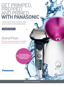 Interactive Wellness Group and Panasonic – Win a grand prize package valued at $1,148