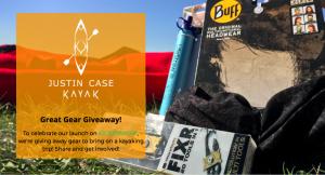 Justin Case Kayak – Win a Lifestraw, Fixr Multitool and Buff Headwear