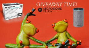 Microbiome Plus+ – Win an Amazon Echo and Probiotics