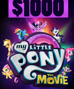 My Little Pony – Oh! Naturals – Win a $1,000 prize