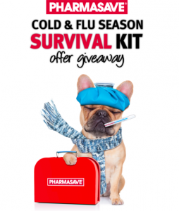 Pharmasave Cold and Flu Season Survival Kit – Complete a survey to Win $1,000