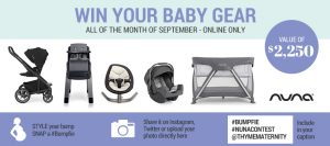 Reitmans – Win a Nuna baby gear package valued at $2,250