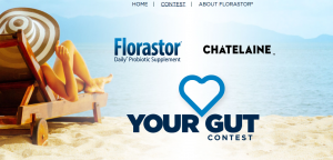 Rogers – Florastor Love Your Gut – Win a $10,000 CDN travel voucher redeemable at Flight Centre