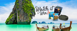 Tan Your Mind 2 Thailand – Watch it to Win – Win 1 of 9 Thailand travel prize packs