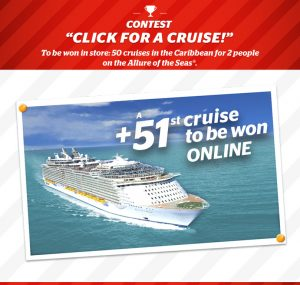 Brault & Martineau – Win a 1-week cruise for 2 tin the Caribbean on the Royal Caribbean Allure of the Seas valued at $4,336